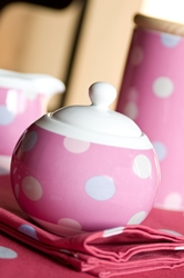 Spotty Porcelain Candy Pink