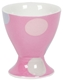 Egg Cup Mug - Spotty Candy Pink