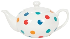 Large Teapot - Spotty Multi