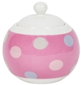 Sugar Bowl - Spotty Candy Pink