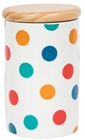 Storage Jar - Spotty Multi
