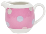 Small Milk Jug - Spotty Candy Pink