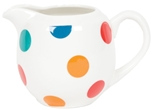 Small Milk Jug - Spotty Multi