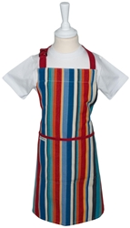 Children's Aprons Full Apron Green Pink
