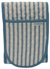 Kolaba Stripe Oven Gloves Light Blue