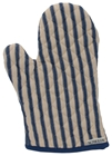 Kolaba Stripe Oven Mitt Dark Blue